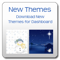 Dashboard Themes change the appearance of your Today page